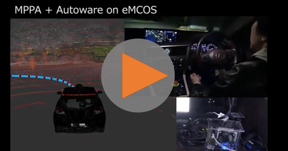 Autowareを使った自動運転プラットフォーム(イーソル)